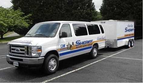 Inmate Work Force Van